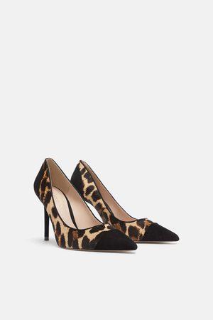 sapatos bicudos mango 2016 preto