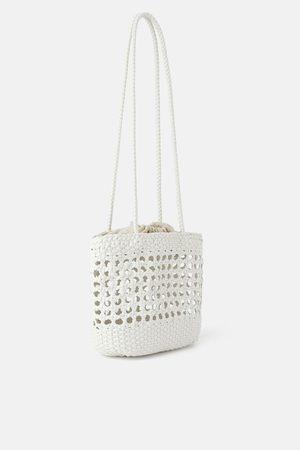 Zara Tote bag mini trançada