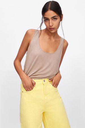 Zara T-shirt de alças