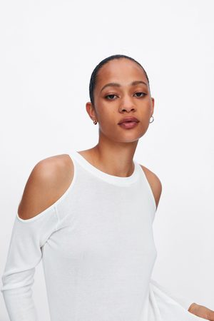 Zara Sweater de malha cut out