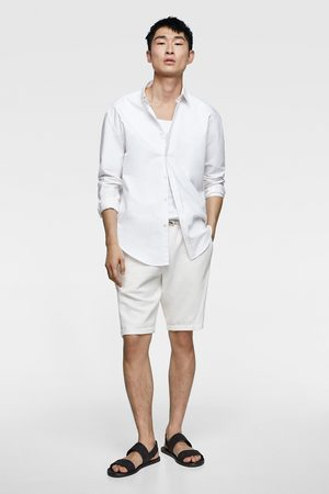 Zara Bermuda shorts with drawstrings