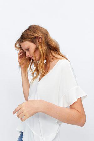 Zara T-shirt c/ folho