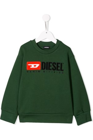 Diesel Logo embroidered sweatshirt