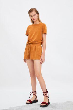Zara T-shirt efeito lavagem
