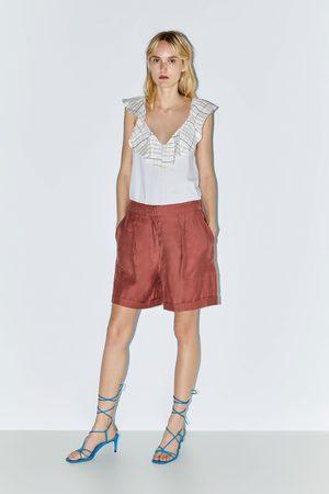 Zara T-shirt folho combinada