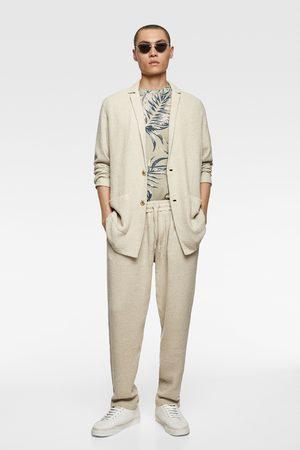 Zara Rustic textured blazer