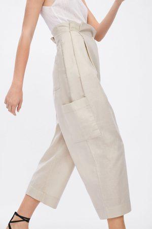 Zara Calças cruzadas cargo