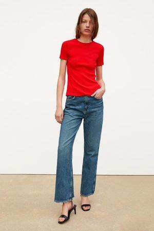 Zara T-shirt de estrutura