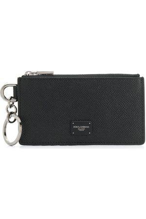 Dolce & Gabbana Homem Bolsas & Carteiras - Logo plaque zipped cardholder