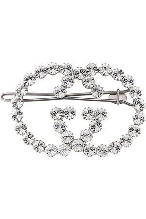 Gucci GG crystal hair clip
