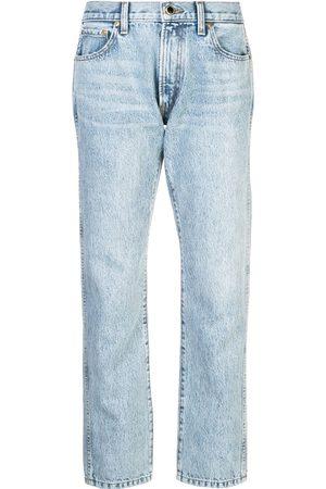 Khaite Senhora Boyfriend - Cropped boyfriend jeans
