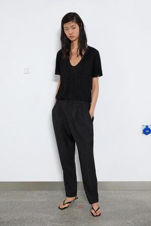 Zara T-shirt de linho