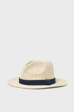 Zara Homem Chapéus - Chapéu com fita combinada