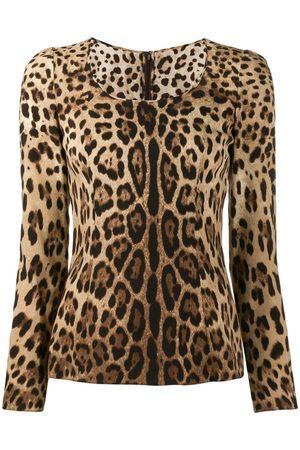 Dolce & Gabbana Leopard print blouse