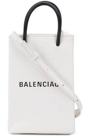 Balenciaga Shopping phone bag on strap