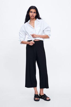 Zara Calças cropped