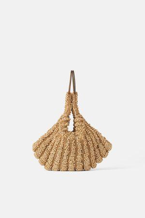 Zara Mala de mão mini saco com missangas