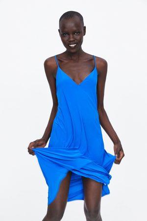 Zara Senhora Vestidos - Vestido de alças