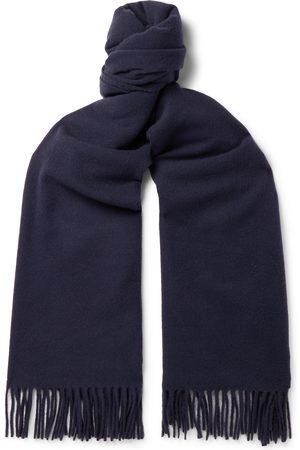 Acne Canada Fringed Wool Scarf