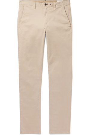 RAG&BONE Fit 2 Slim-fit Garment-dyed Cotton-blend Twill Chinos
