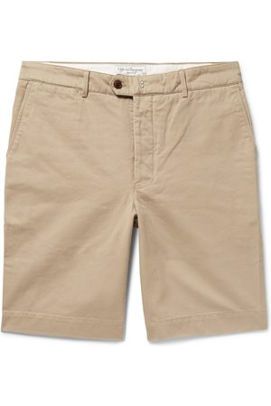 OFFICINE GENERALE Fisherman Cotton-twill Shorts