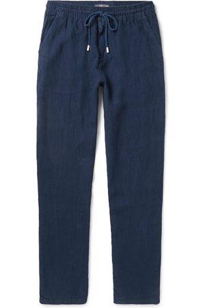 Vilebrequin Pacha Linen Drawstring Trousers