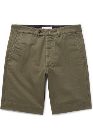 OFFICINE GENERALE Homem Calções - Fisherman Cotton-twill Shorts
