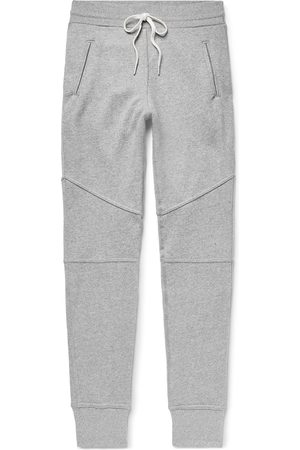 JOHN ELLIOTT Homem Escobar Slim-fit Tapered Loopback Cotton-blend Jersey Sweatpants