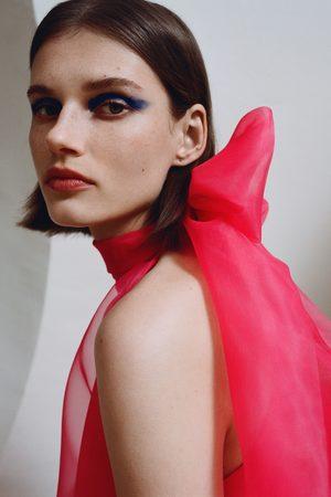 Zara Vestido mini de organza