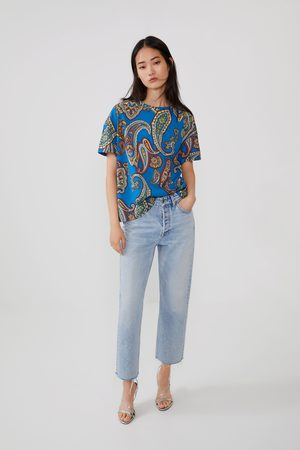 Zara T-shirt estampada