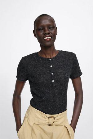 Zara T-shirt c/ botões