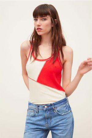 Zara T-shirt bicolor