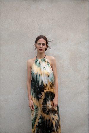 Zara Vestido com estampado tie dye