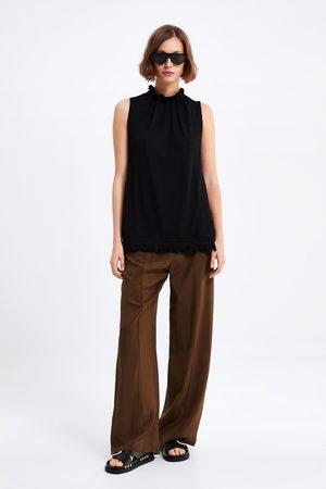 Zara T-shirt franjas