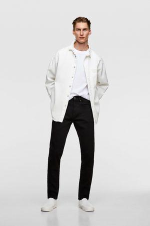 Zara Homem Slim - Jeans slim básicos