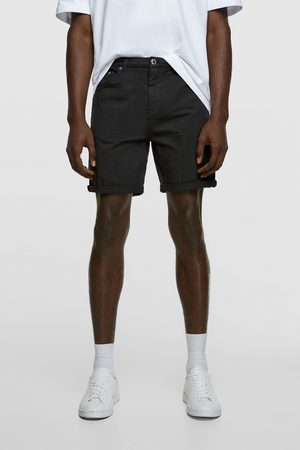 Zara Homem Bermudas - Calções bermuda básicos new skinny