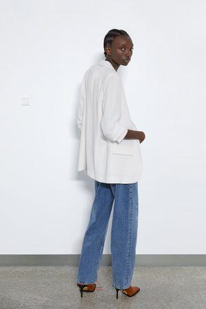 Zara Blazer de manga arregaçada