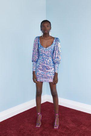 Zara Vestido mini lantejoulas edição limitada