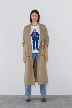 Zara T-shirt estampada lantejoulas