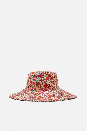 Zara Chapéu bucket estampado