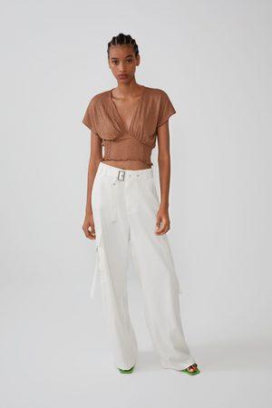 Zara T-shirt com elástico