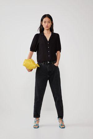 Zara Camisa fluida volume