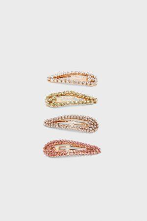 Zara Pack ganchos brilho multicores