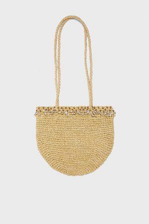 Zara Mala tote bag conchas