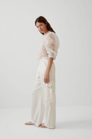 Zara Blusa com estrutura e volume