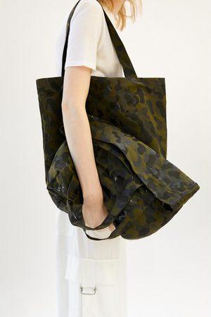 Zara Tote bag camuflagem