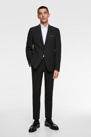 Zara Blazer de conjunto com linha viva combinada