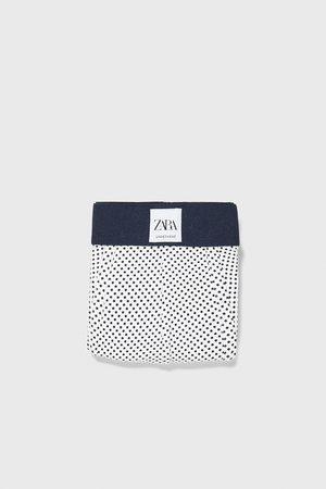 Zara Boxers com estampado às bolinhas