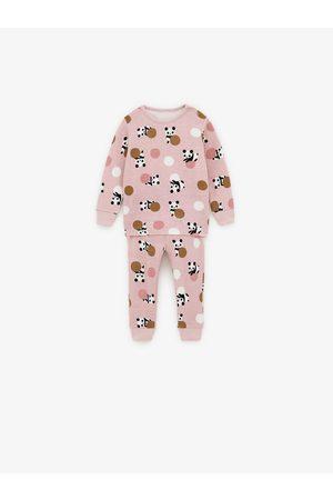 Zara Pijama com pandas