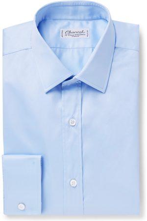 Charvet Homem Formal - Light- Slim-fit Cotton Shirt